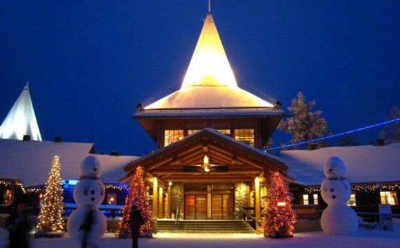 Деревня Санта-Клауса в