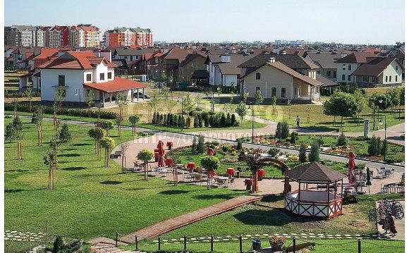 Вид на поселок малоэтажной