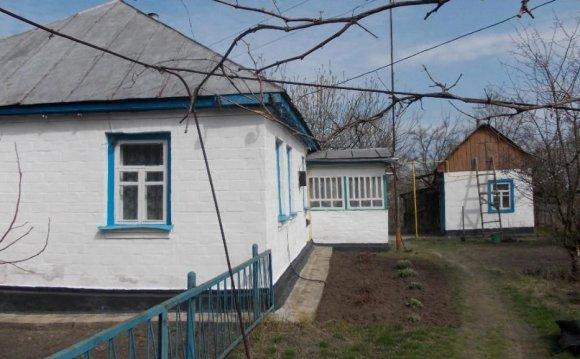 Купить дом в селе в Черкасской