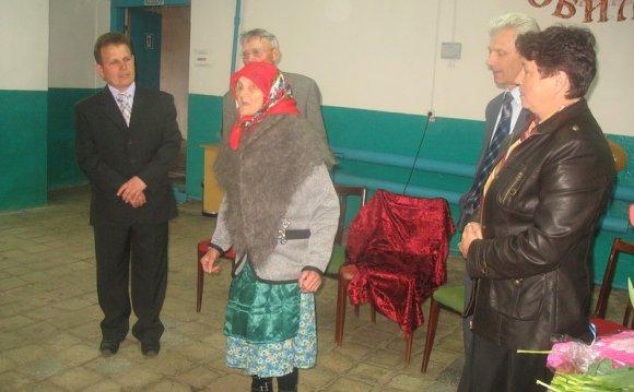 Жительница деревни Латышево