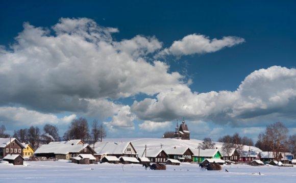 Деревня Вершинино. Фото К