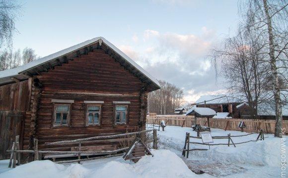 старые деревянные дома в