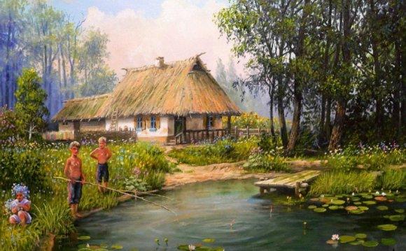 Статусы про деревню на