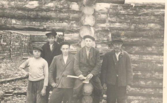 Плотницкая бригада колхоза