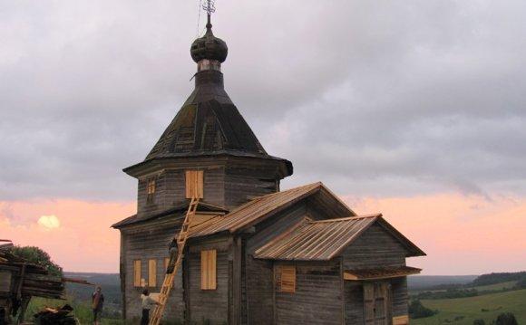 Деревня Семеновская. Часовня